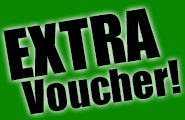 A great EXTRA for you: Grab your special voucher!
